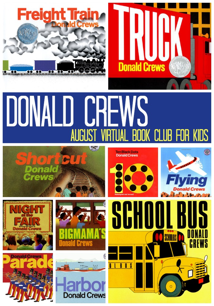 Donald Crews August Virtual Book Club for Kids Author