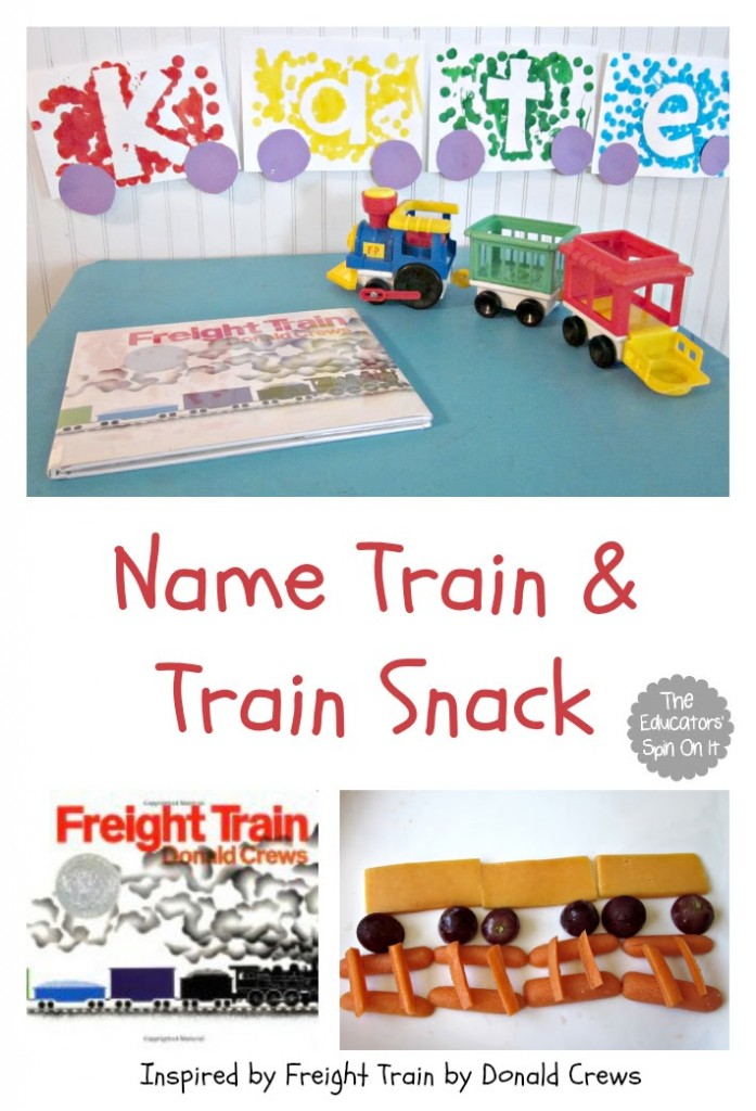 Name Train and Train Snack