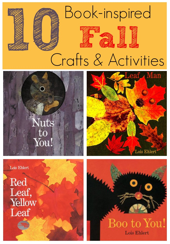 10 Book-inspired Fall Crafts and Activities