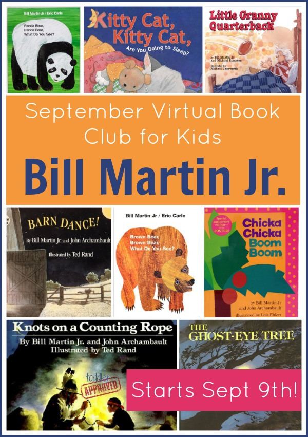 Bill Martin Jr Virtual Book Club for Kids