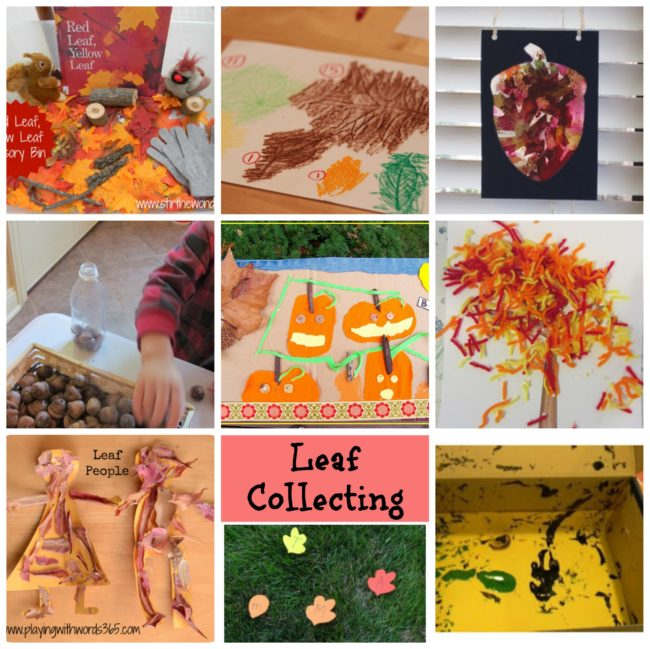 Leaf Themed Activities and Ideas for Book Based Fun aimed at Toddlers and Preschoolers and featuring Red Leaf, Yellow Leaf by Lois Ehlert.