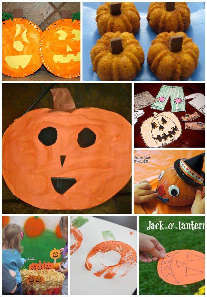 pumpkin crafts and activities