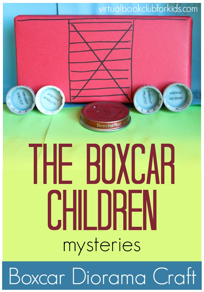 Boxcar children diorama craft