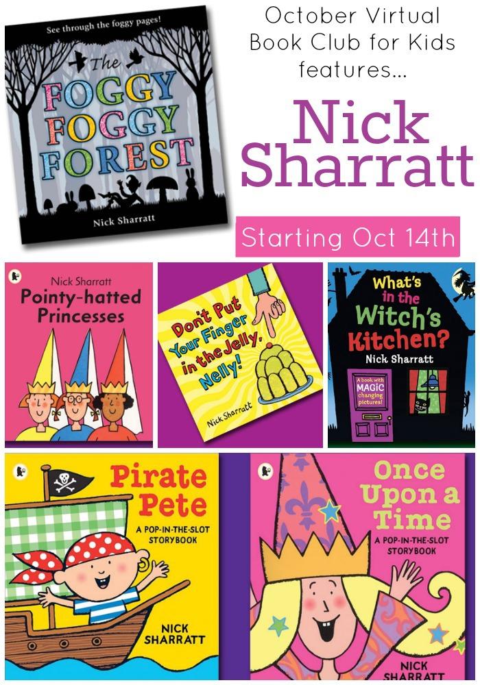 Nick Sharratt updated
