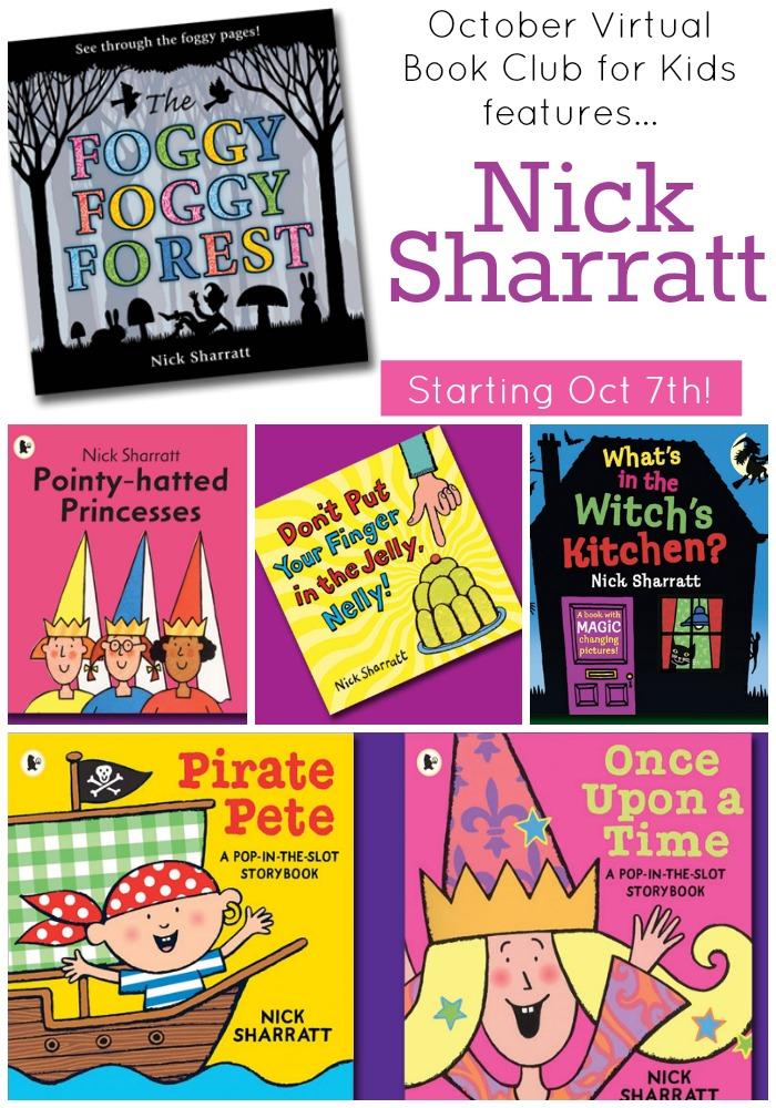 Nick Sharratt Virtual Book Club for Kids
