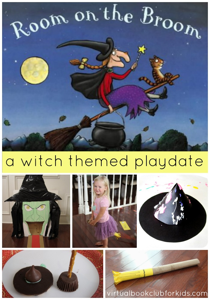 Witch Crafts and Activities for Kids {Room on the Broom by Julia Donaldson}