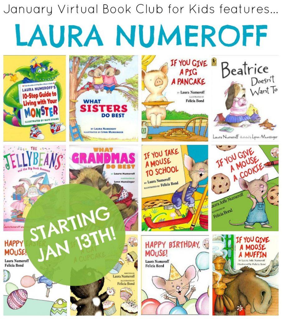 Laura Numeroff VBC collage