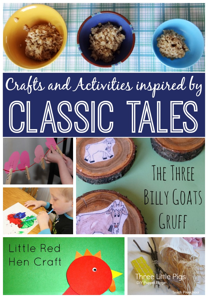 classic tales crafts and activities virtual book club for kids