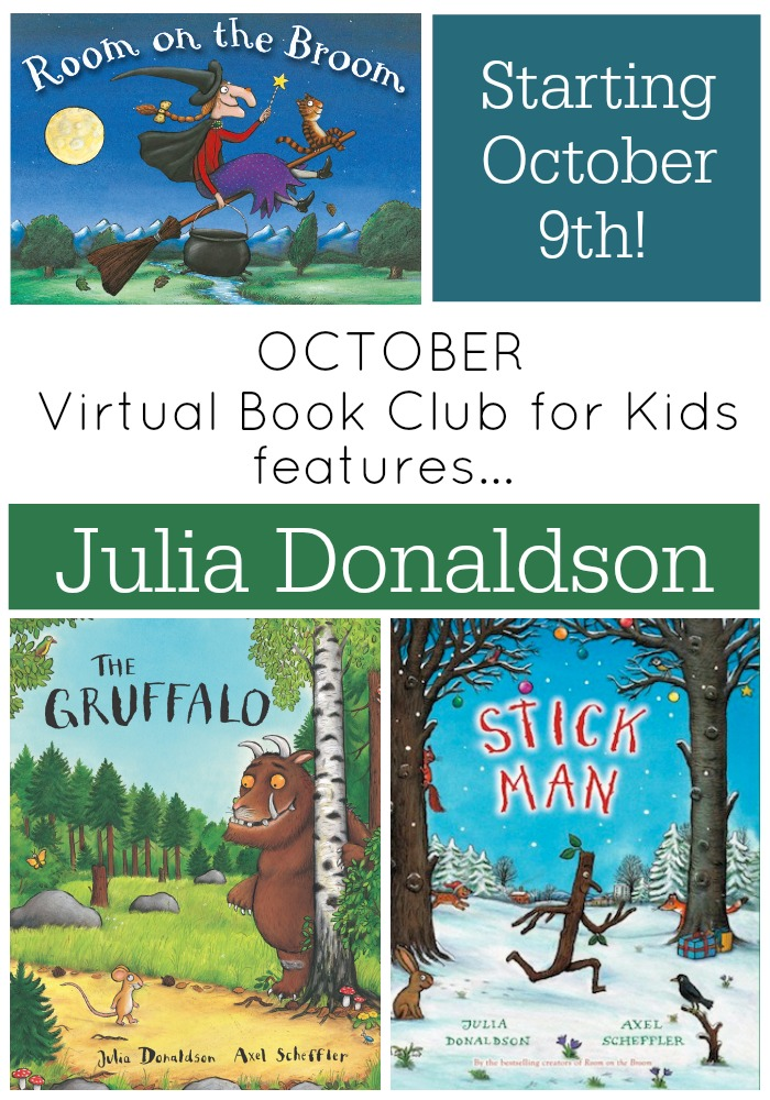 Julia Donaldson October VBC for Kids