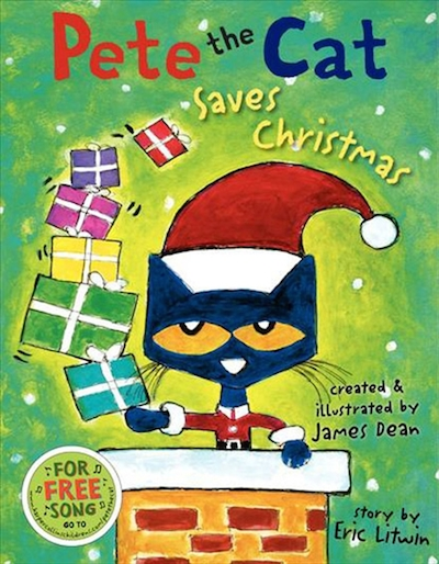 saves christmas pete the cat