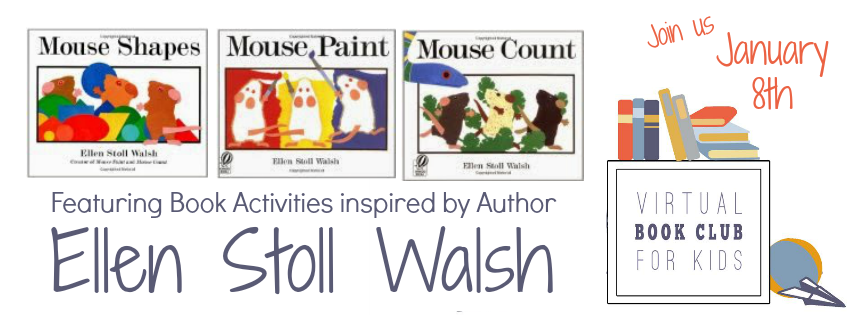 Virtual Book Club for Kids features Ellen Stoll Walsh in January!