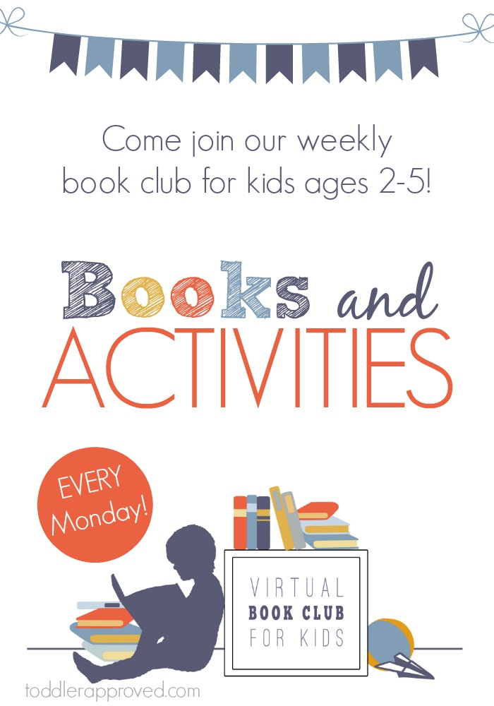Join the Virtual Book Club for Kids Weekly Themes for Preschoolers