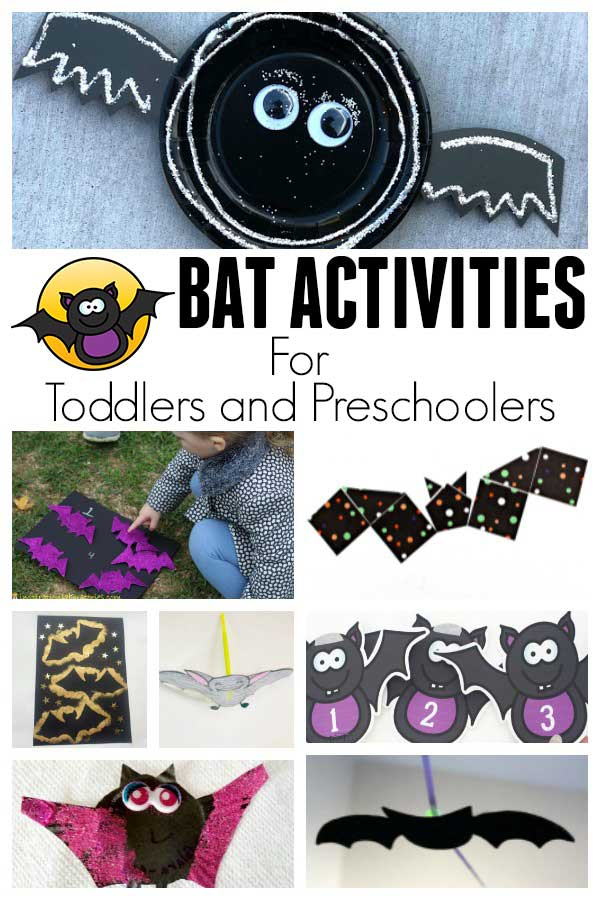 Bat and Stellaluna Activities for Toddlers and Preschoolers