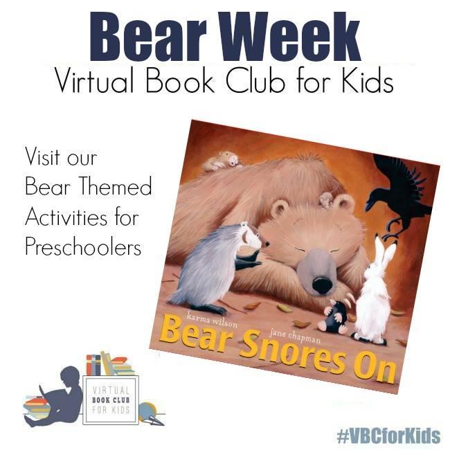 bear week for Virtual Book Club for Kids