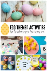Egg Crafts and Activities for Toddlers and Preschoolers