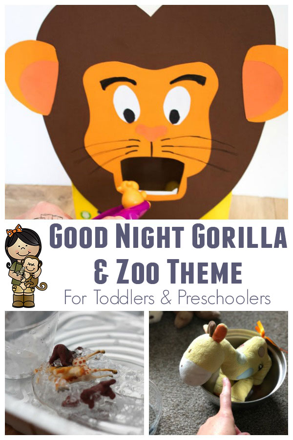 Goodnight Gorilla Themed Activities for Toddlers and Preschoolers