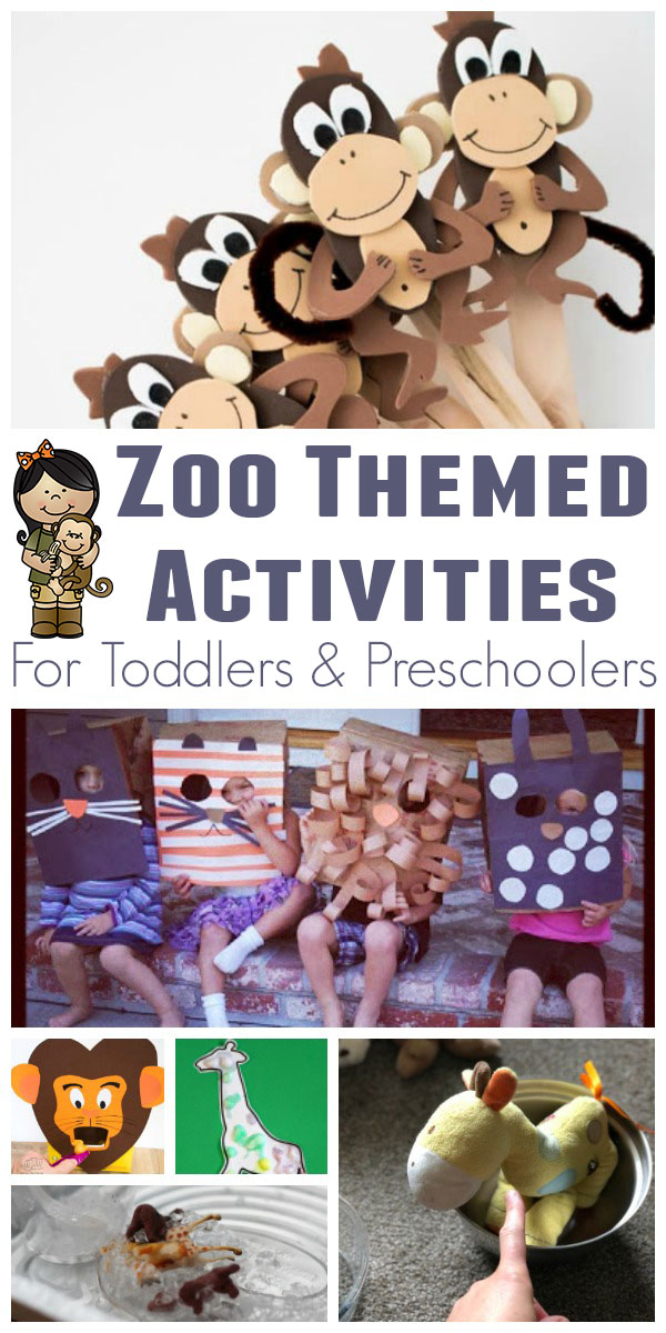 Zoo themed activities based on the classic children's picture book Good Night Gorilla by Peggy Rathmann, for toddlers and preschoolers to have fun, learn and read together