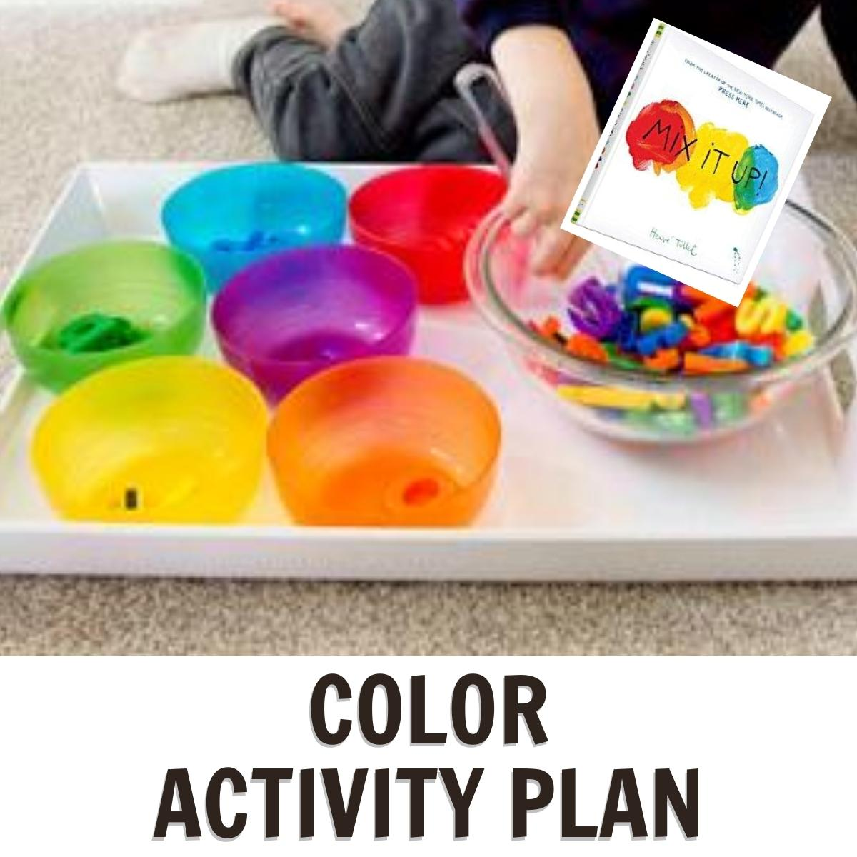 Colors Week for Preschoolers Featuring Mix it Up