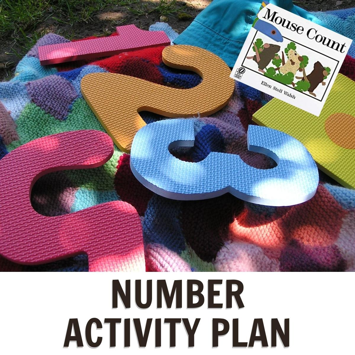 Numbers Week featuring Mouse Count by Ellen Stoll Walsh