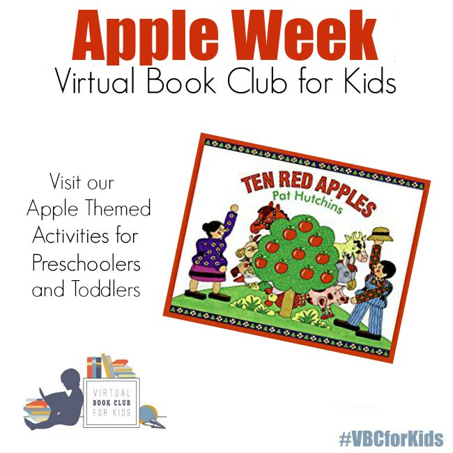 Apple Week Featuring 10 Red Apples by Pat Hutchins