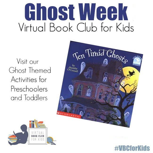 Ghost Week at the Virtual Book Club for Kids
