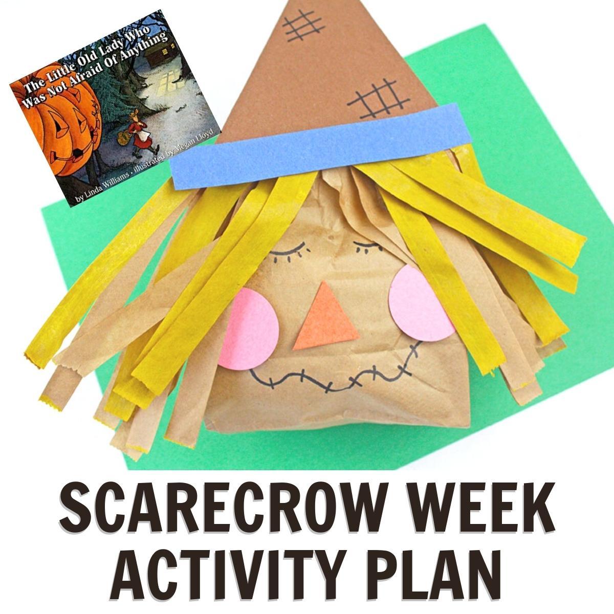 Scarecrow Week Activity Plan for Preschoolers