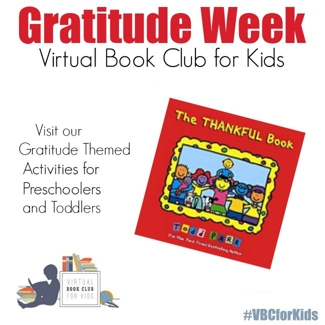 The Thankful Book by Todd Parr for Gratitude Week