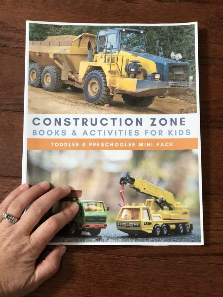 Construction Zone Mini-Pack for Toddlers and Preschoolers