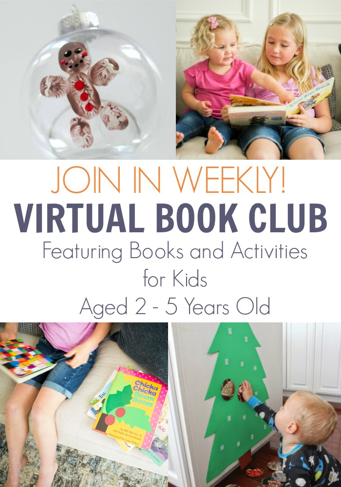 December Join in Virtual Book Club for Kids Image