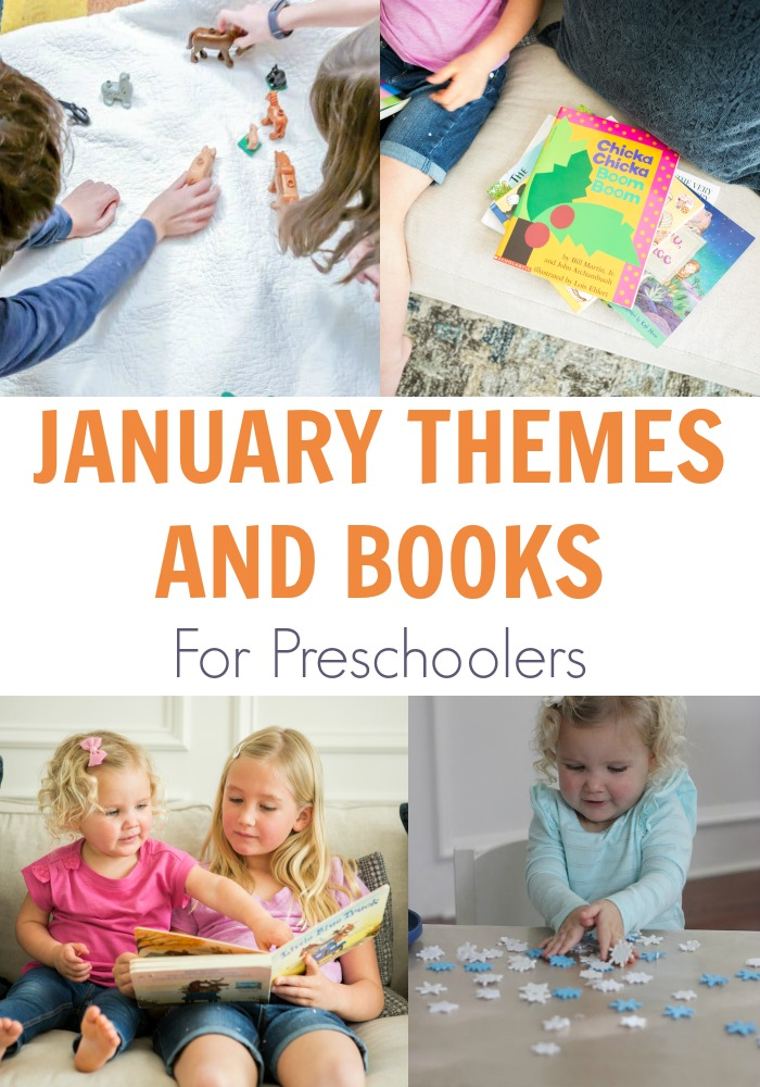 January Themes and Books for Preschoolers