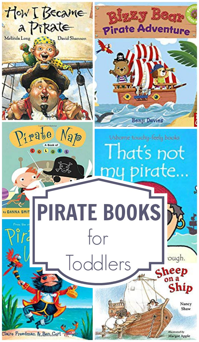 Fun pirate books that you and your toddler will love to read together