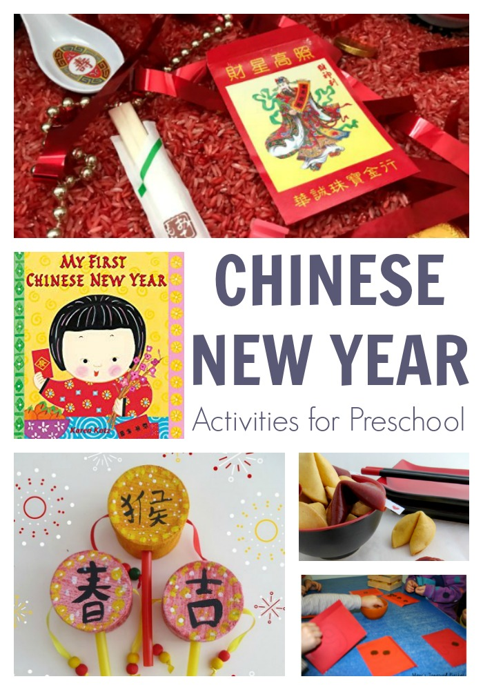 Fun Week of Chinese New Year Activities for Preschoolers including recommend books to learn about celebrations and culture whilst playing, creating and having fun.