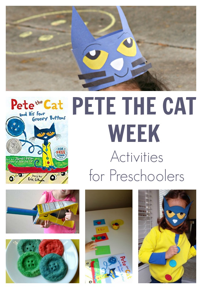 Pete the Cat Week for Preschoolers