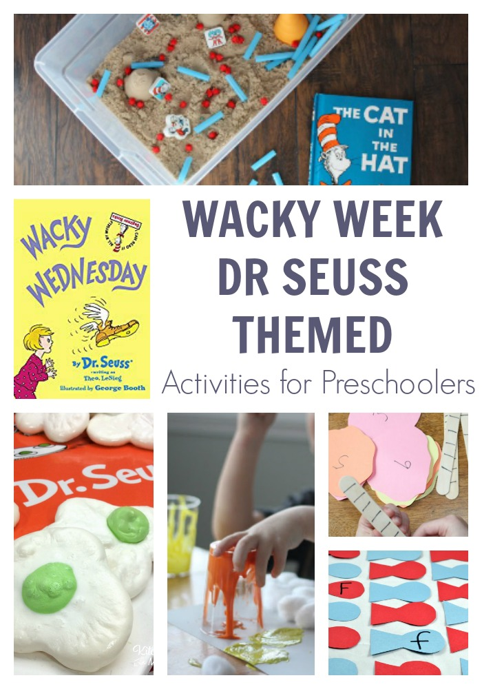 Wacky Week for Preschoolers with Dr Seuss