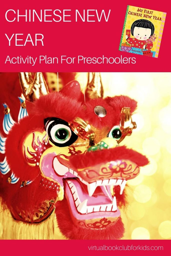Lunar New Year Activities for Preschoolers featuring the book My First Chinese New Year