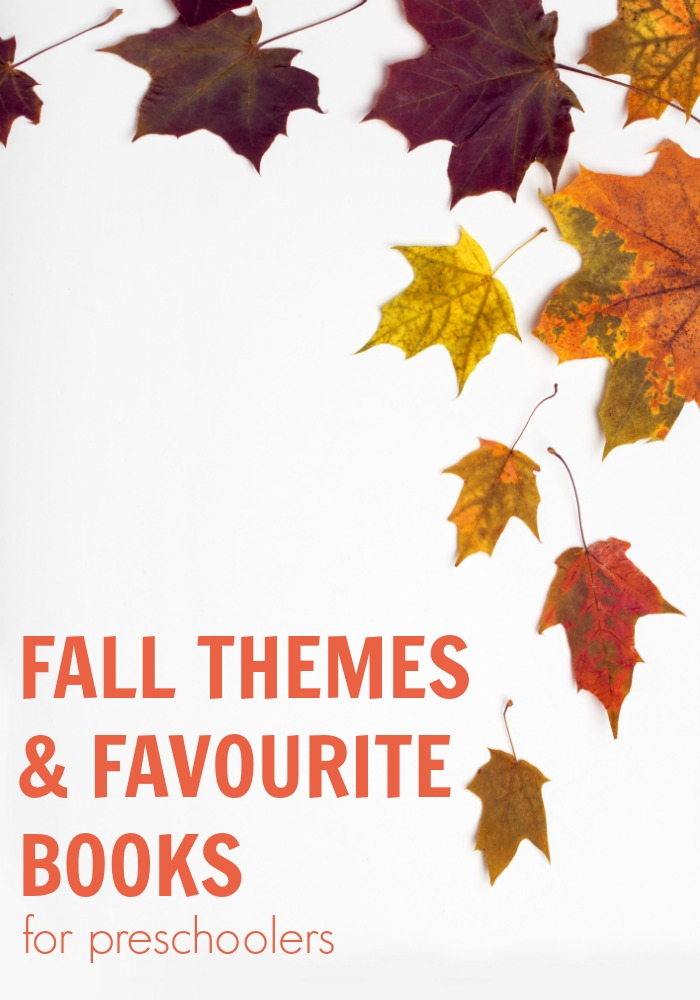Fun fall themes and books for preschoolers to enjoy. With simple weekly activity plans and recommended picture books these are fun ways to celebrate the season whilst learning, playing, creating and having fun.