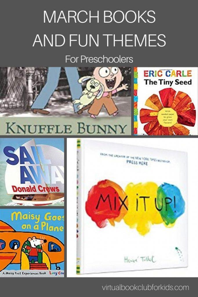 march books and fun themes for preschoolers