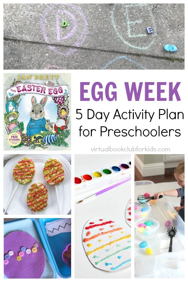 Easter Egg Themed Week for Preschoolers