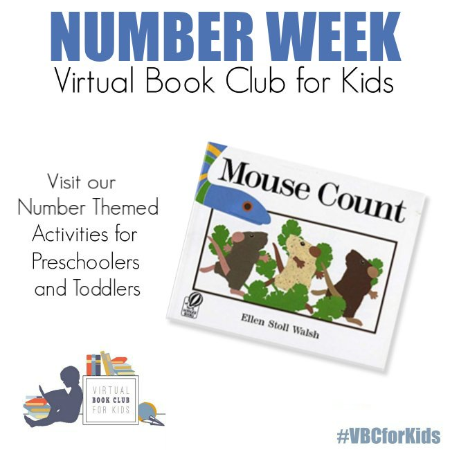 Mouse Count Book Cover featuring Book Activities for Kids