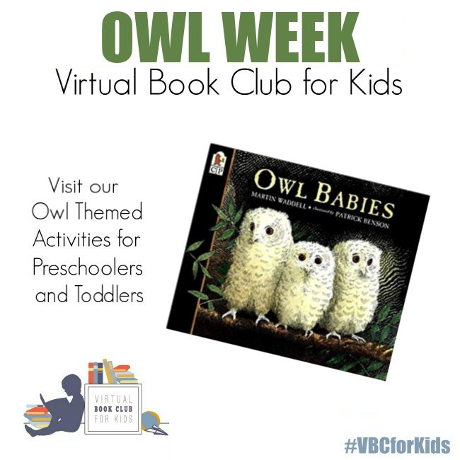 Owl Babies Book Cover featuring Book Activities for Kids