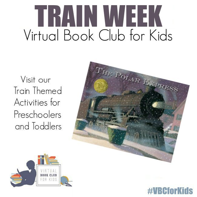 Polar Express Book Cover featuring Book Activities for Kids