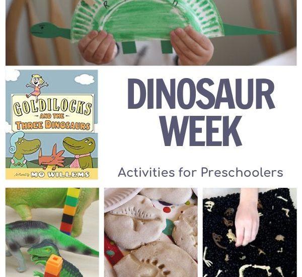 dinosaur week activities for preschoolers