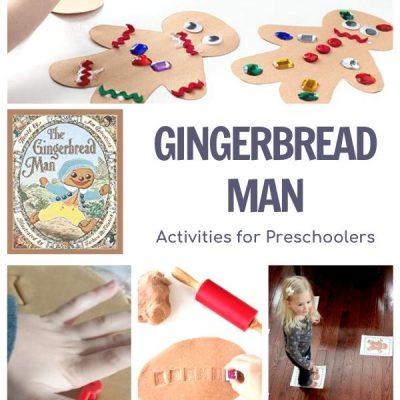 Gingerbread Man Themed Week Activity Plan for Preschoolers