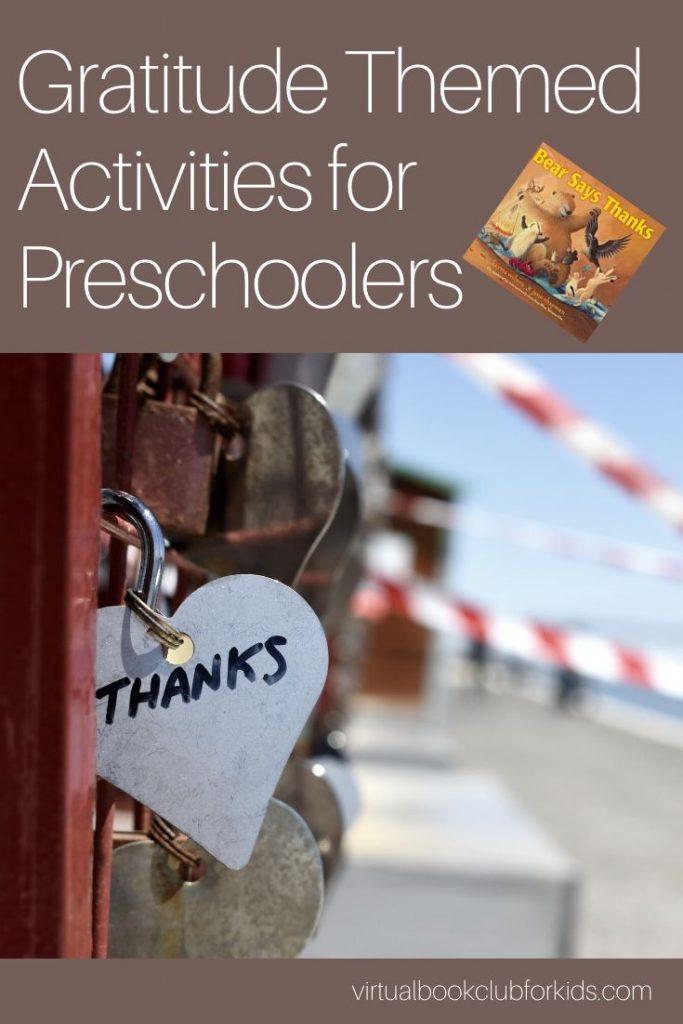 gratitude themed activities for preschoolers