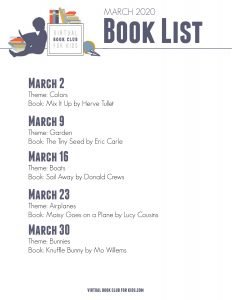 March Books and Themes for Preschoolers