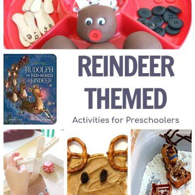 Rudolph the Red-Nosed Reindeer Week for Preschoolers