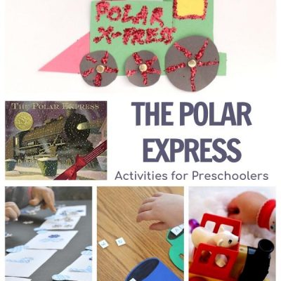 Train Week for Preschoolers Featuring Polar Express