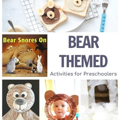 Bear Week for Preschoolers Featuring Bear Snores On
