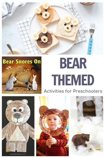bear themed activities for preschoolers