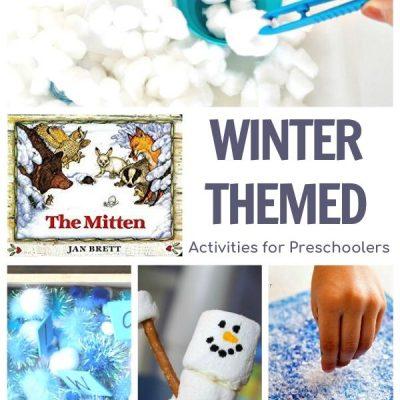 Winter Week for Preschool Featuring The Mitten by Jan Brett